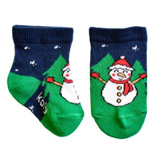 Novogodišnje čarape Sneško Belić i Jelkica 2021
