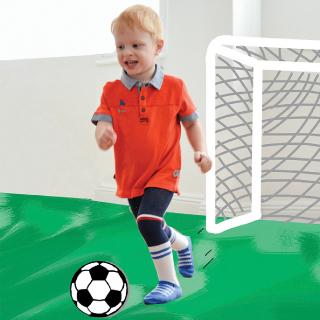 Bebi fudbaler hulahop
