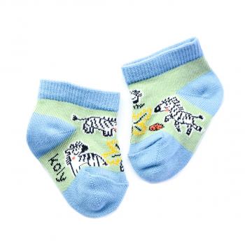 Zebre na livadi čarape