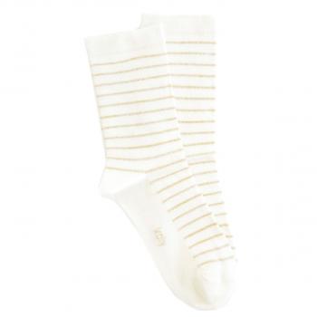 Čarapa sa zlatnim prugama