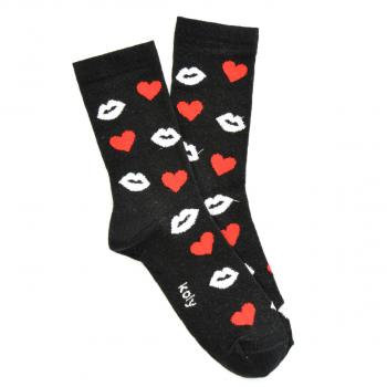 Čarape sa Srcima i Usnama
