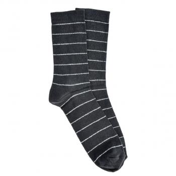 Crne muške čarape sa prugama