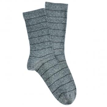 Sive muške čarape sa prugama