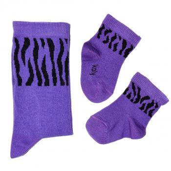 Čarape sa zebra printom