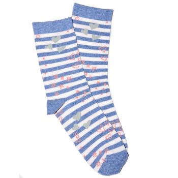 Čarape sa srcima i zvezdicama