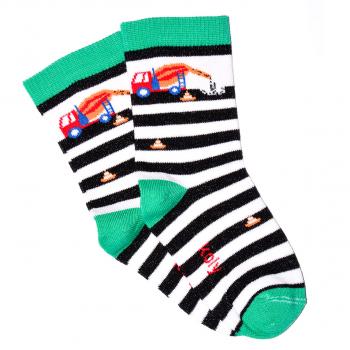 Čarape sa kamionom mikserom.