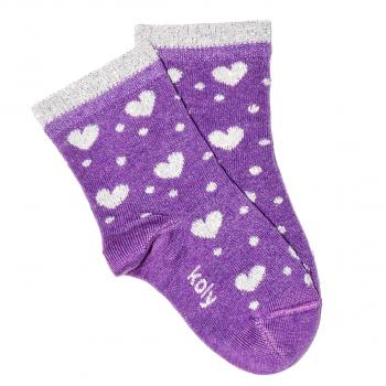 Čarape sa sjajnim srcima