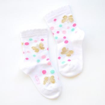 Čarape sa zlatnim leptirima