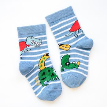 Čarape sa animiranim dinosaurusima