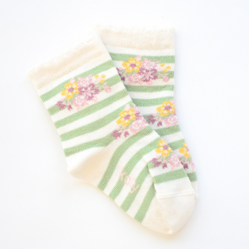 Cvetne čarape sa prugama