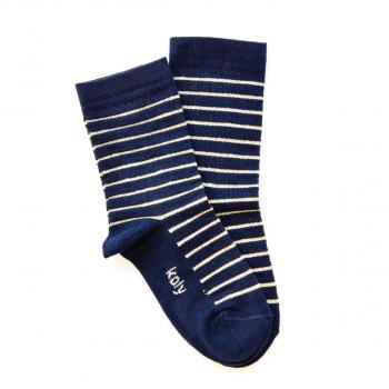 Čarape sa sjajnim prugama
