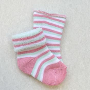 Frotir čarape sa prugama