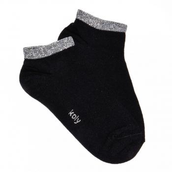 Čarape nazuvice sa srebrnim sjajem