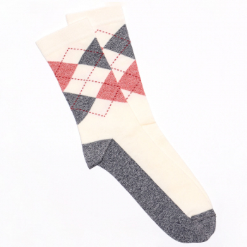Classic čarapa sa rombovima
