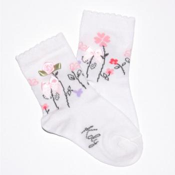 Svečana čarapa sa ružama