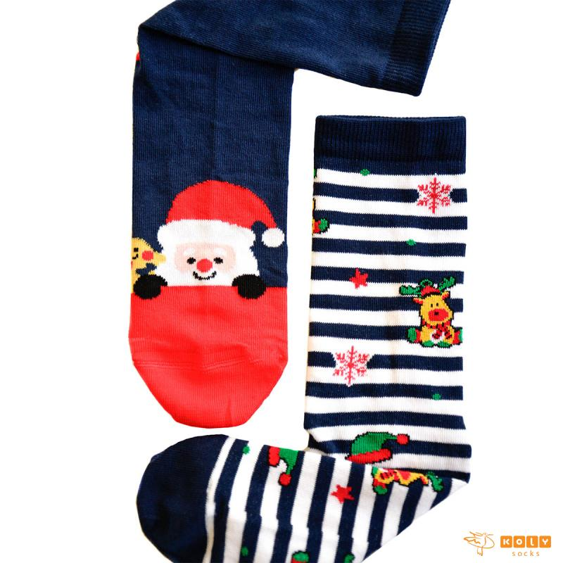 Novogodišnje čarape Deda Mraz i Irvasi 2021