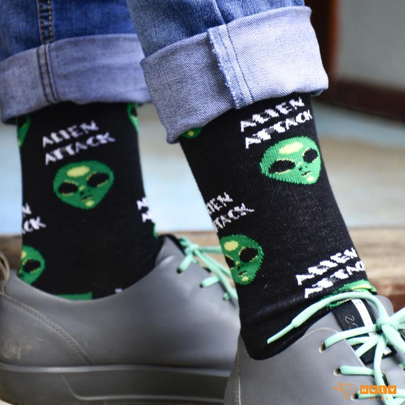Z Socks Alien Čarape
