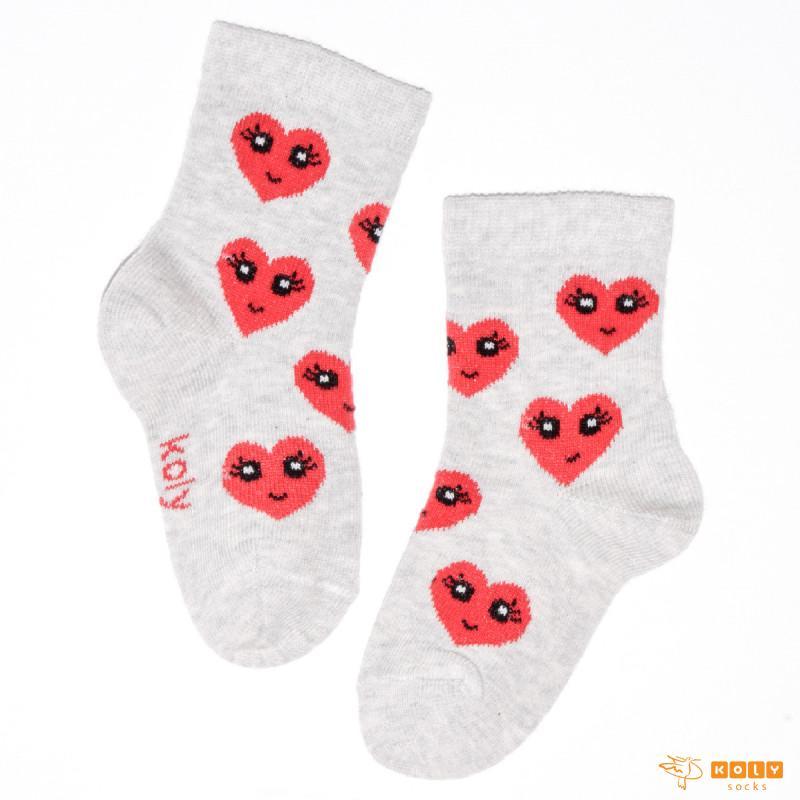 Čarapa sa srcima