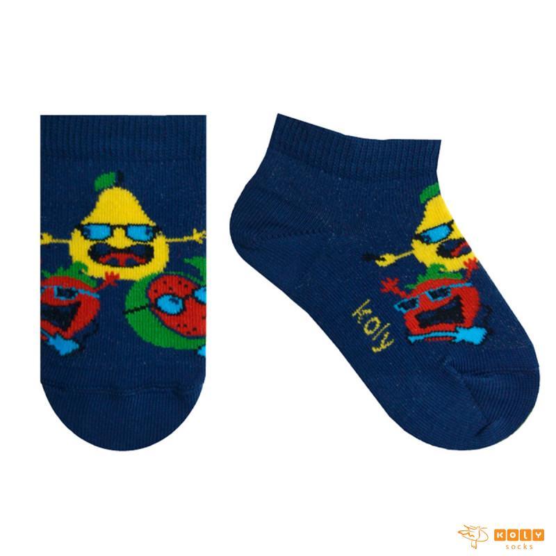 Bebi čarape nazuvice sa voćkicama
