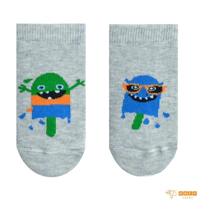 Bebi čarape nazuvice sa sladoledima