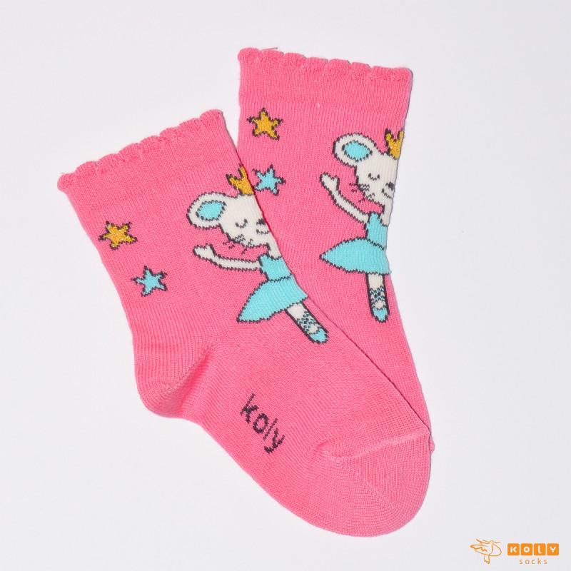 Čarapa sa animiranom balerinom