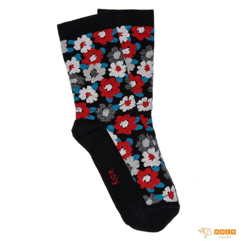 Maskirno cveće čarape